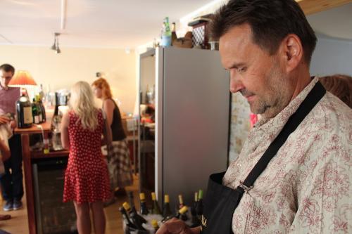 Itaalia veinipidu Haapsalus juuni 2016